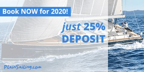 Book now for 2020 with just 25 percent deposit!