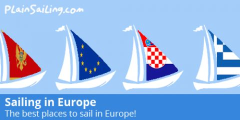 The best places to sail in Europe