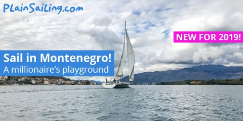 New for 2019: Sailing in Montenegro!