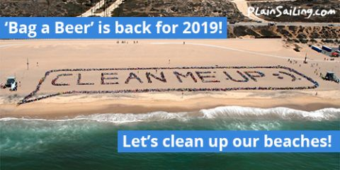 It's back for 2019! Our faraway-beach cleaning campaign!