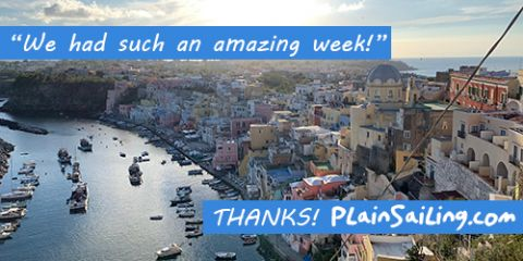 We had such an amazing week! THANKS, PlainSailing.com!