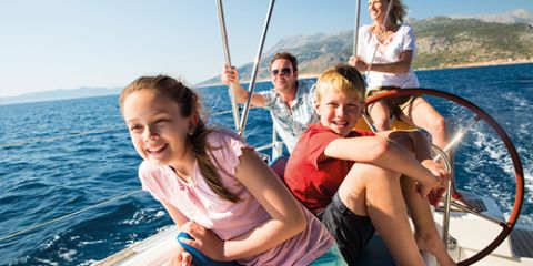 Sailing with kids: FAQ