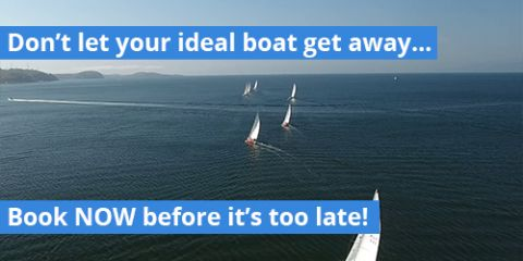 Don't let your ideal boat get away... BOOK NOW!