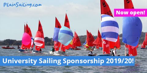 Uni Sailing Sponsorship - Now open!