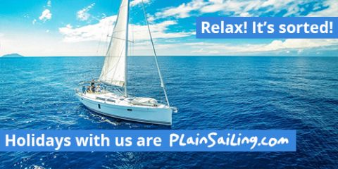 Relax! Holidays with us are PlainSailing.com