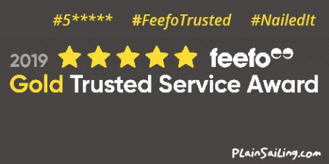 We're FIVE-STAR GOLD TRUSTED #FeefoTrusted