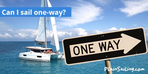 Can I sail one-way?