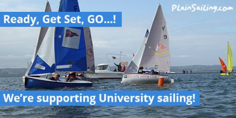 We're supporting University sailing!