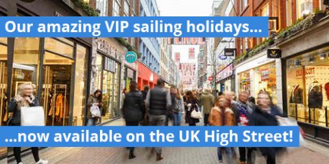 Amazing sailing holidays now available on the UK High Street!