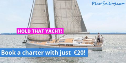 Secure your ideal boat for just €20!