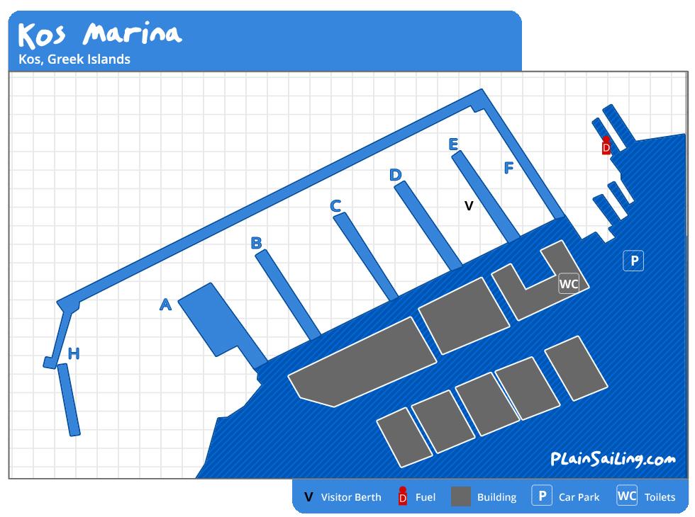 Kos Yacht & Catamaran Charter Guide - Sailing from Kos, Greece