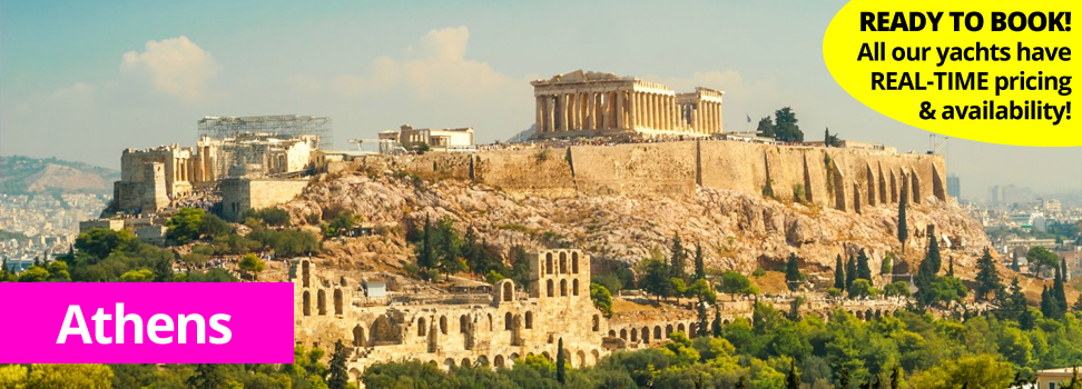Athens city for PlainSailing.com yacht charter