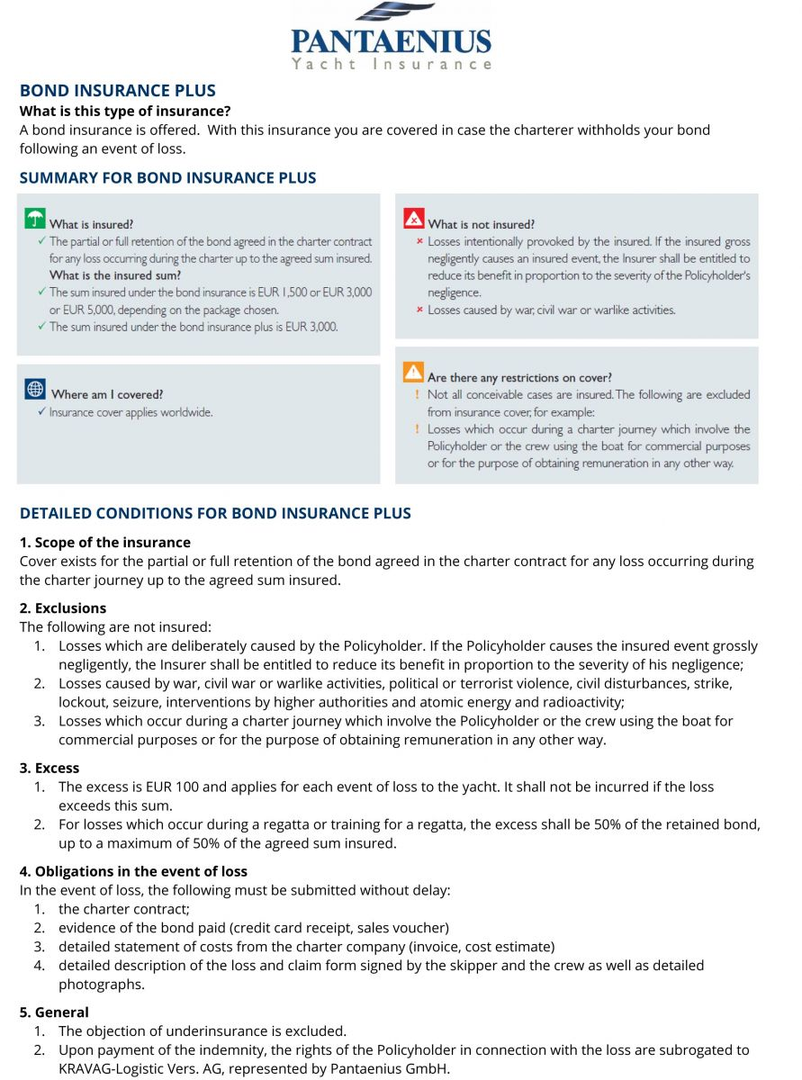 Security Deposit insurance factsheet