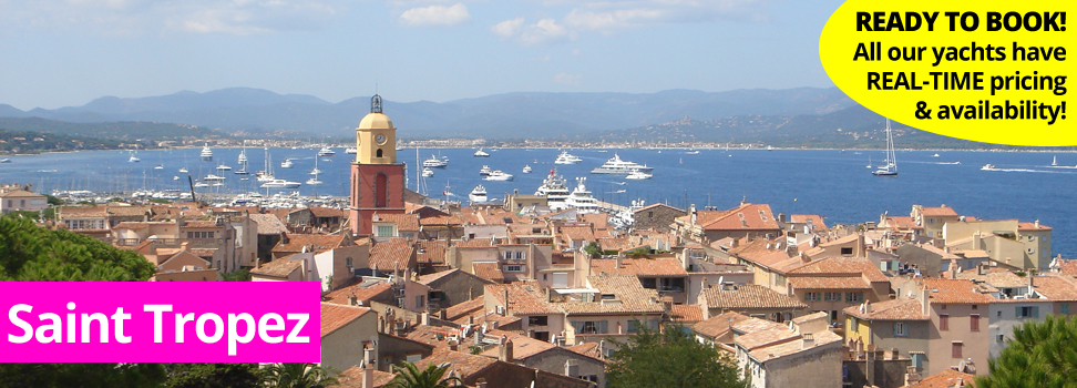 Yacht and Catamaran Charter in Saint Tropez