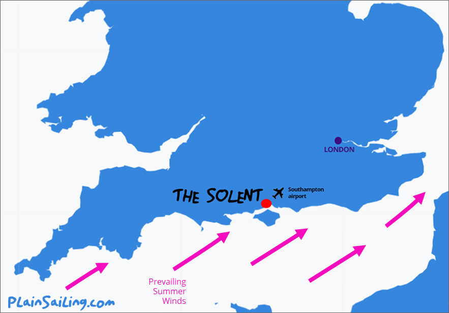 Solent Sailing - Wind Conditions