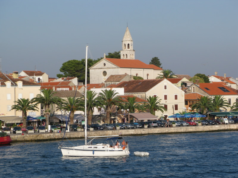 Biograd from the Sea