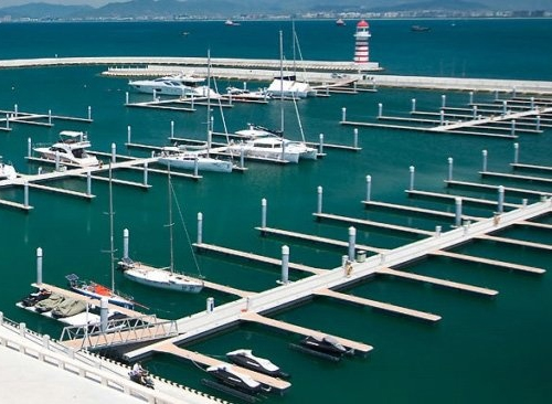 Mooring fees in a marina