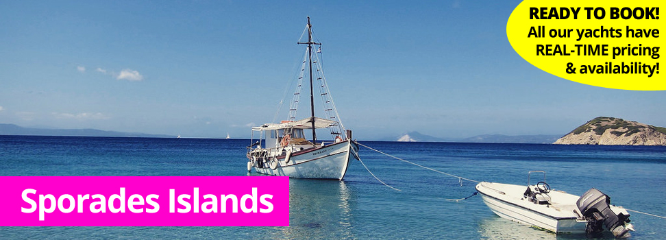 Yacht and Catamaran Charter in the Sporades Islands